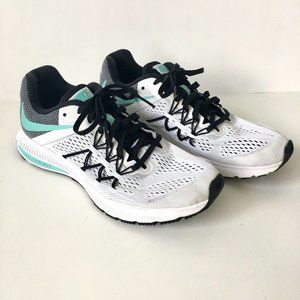 Nike Womens 10 Zoom Winflo 3 Running Shoes Teal